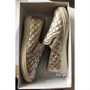 Steve madden Leather Slide On Shoes